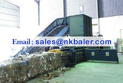Automatic Horizontal Baling Press Machine,OCC paper