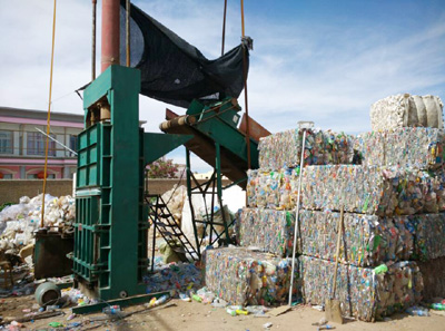 PET Bottles Baler
