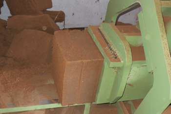 Nick Baler Coco Peat Block Making Machine