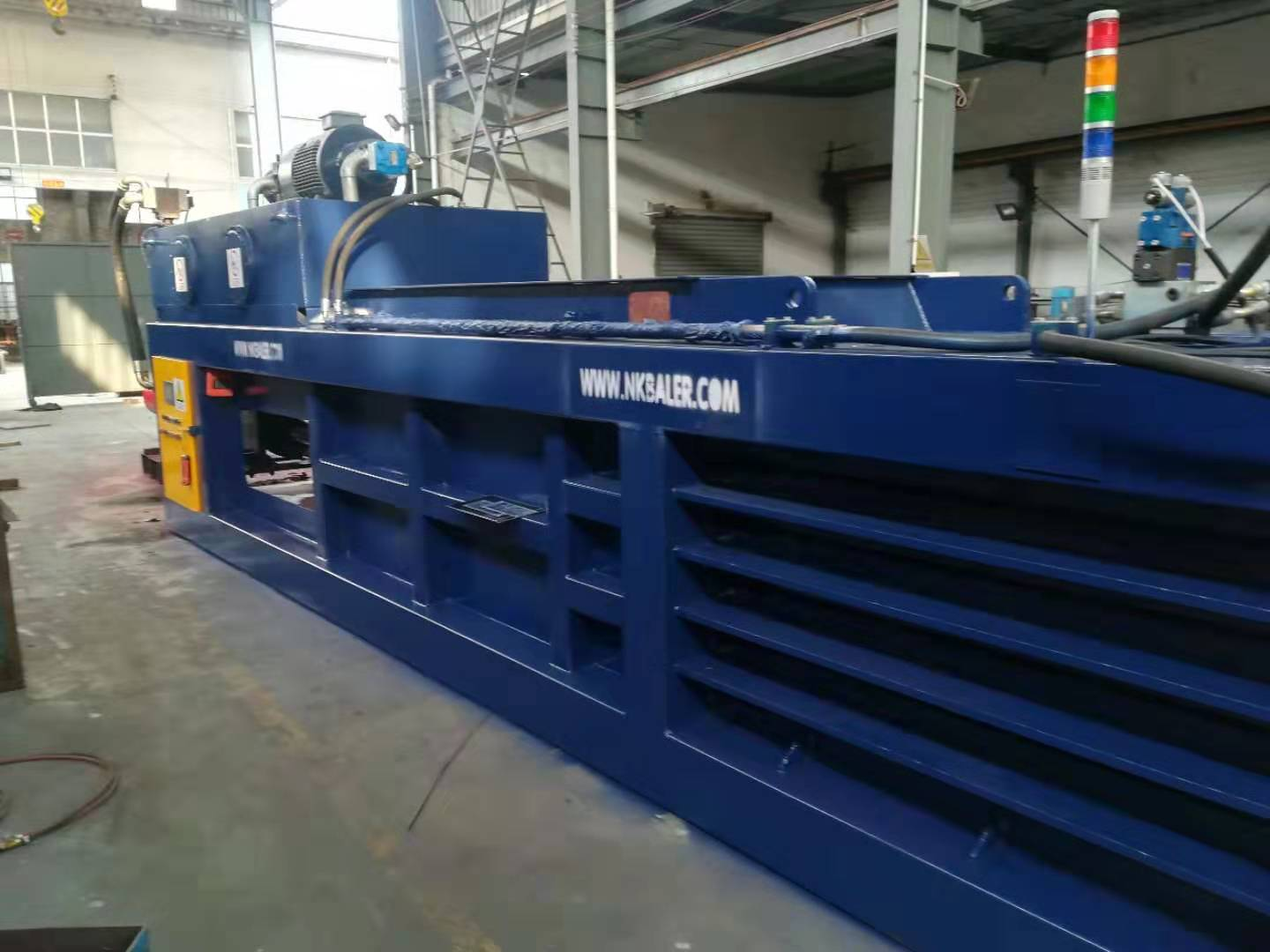 waste carton baler Newspaper baler