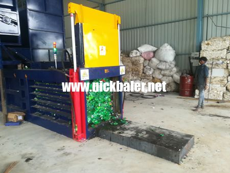 Plastic film baler Plastic film pressing machine
