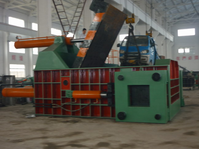 Waste Car Baler Waste Car Scrap Baler