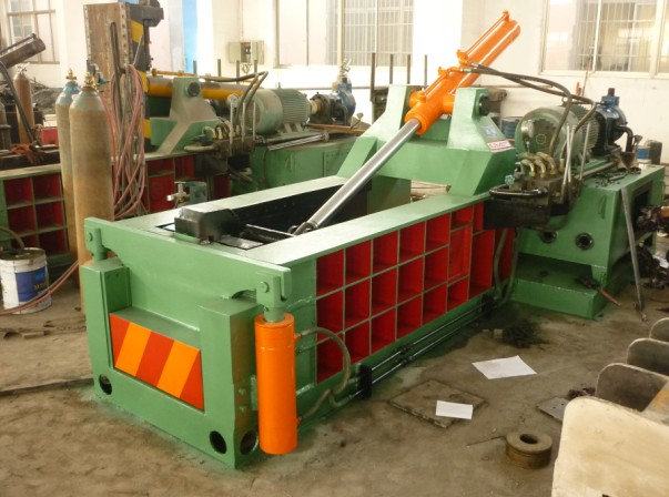 Scrap Can Tins Compactor Baler
