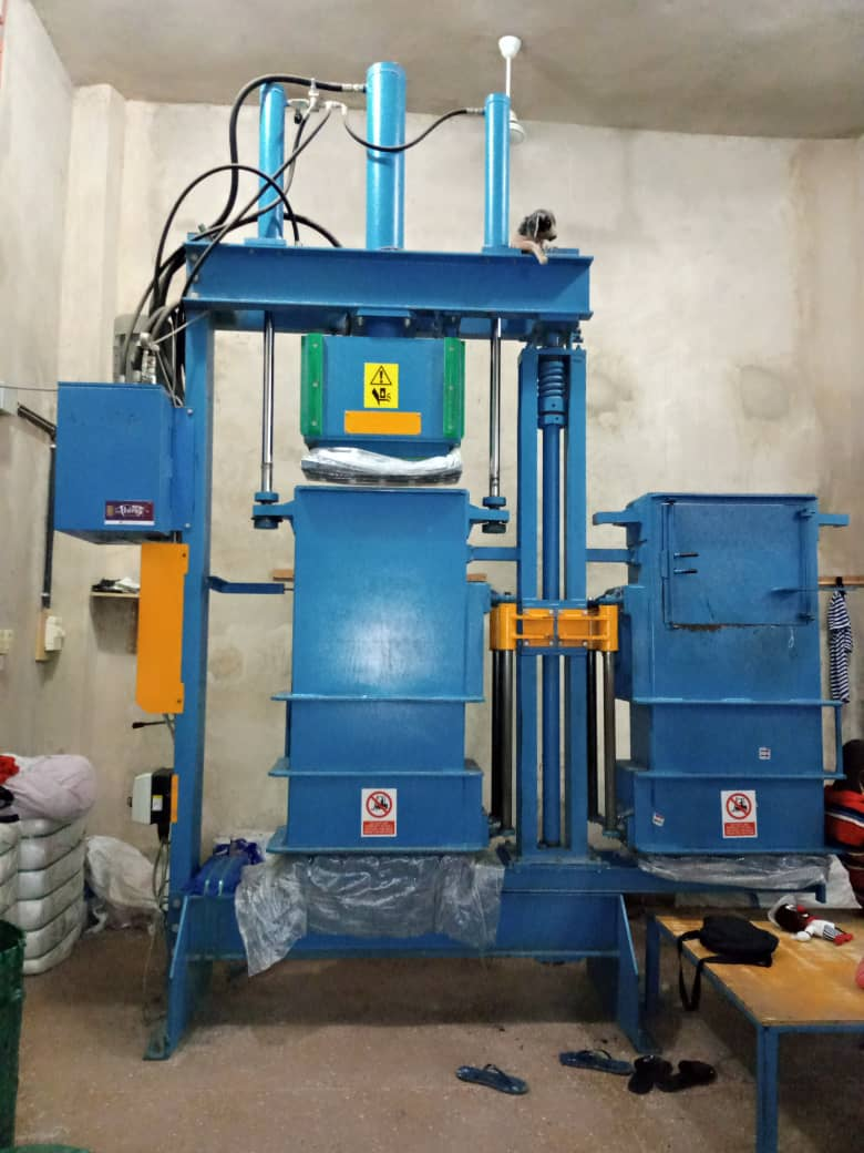 NK-60L Used clothing baling machine